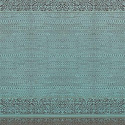 376090 Turquoise Tapestry Wallpaper Mural