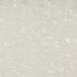 3868 White Crushed Fabric by Charlotte Fabrics