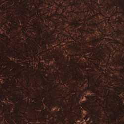3873 Cocoa Crushed Fabric by Charlotte Fabrics