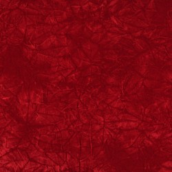 3875 Red Crushed Fabric by Charlotte Fabrics