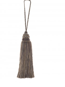 Gorgeous Perfume Pewter Decorative Tassel