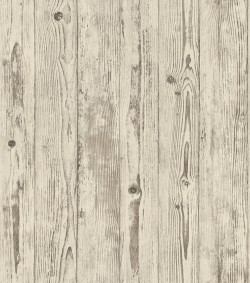 4015-427318 Albright Ivory Weathered Oak Panels Wallpaper