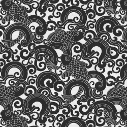 Waveform 407742 Onyx PKL Studio Outdoor Fabric