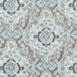 Stamped Damask 407760 Stone PKL Studio Outdoor Fabric