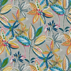 Painted Leaves 407810 Opal PKL Studio Outdoor Fabric