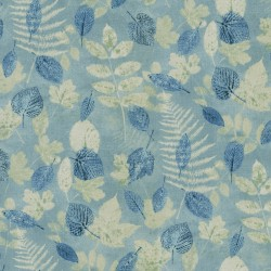 Farmhouse Leaf 408570 Chambray PKL Studio Outdoor Fabric