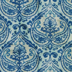 Summer Medallion 408920 Marine PKL Studio Outdoor Fabric