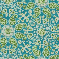 Peruvian Craft 408981 Turquoise PKL Studio Outdoor Fabric