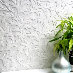 437-RD80026 High Leaf Paintable Textured Vinyl