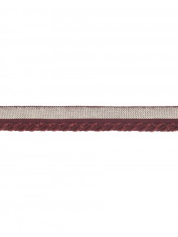 Waterman Burgundy Trim Fabric