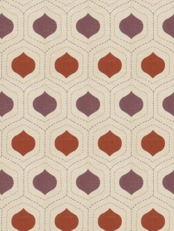 Special Charlatans Plum Spice Fabric