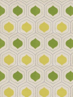 Charming Charlatans Green Variety Fabric