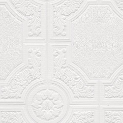 Architectural Inspirations 48929 Paintable Wallpaper