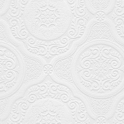 Architectural Inspirations 48932 Paintable Wallpaper