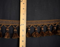 Chocolate Brown Tassel Trim BF 4005