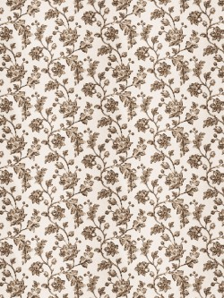Magnificent Bello Floral Latte Fabric