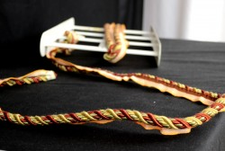 401 580 Red Gold Lip Cord