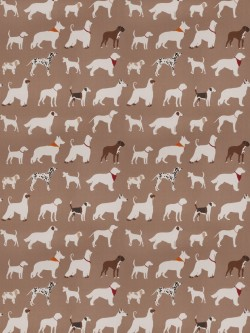 Charming 03342 Brown Fabric