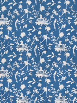 Exceptional 03364 Blue Fabric