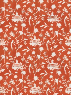 Magnificent 03364 Orange Fabric