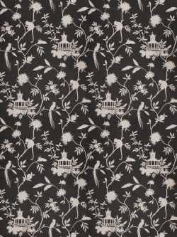 Pretty 03364 Black Fabric
