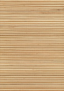 Chou Beige Grasscloth Wallpaper