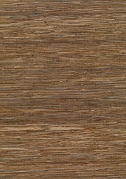 Kaede Light Brown Grasscloth Wallpaper