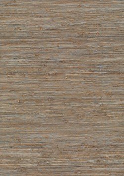 Katsu Light Brown Grasscloth Wallpaper