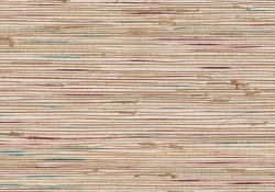Ken Khaki Grasscloth Wallpaper