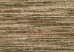 Mai Khaki Grasscloth Wallpaper
