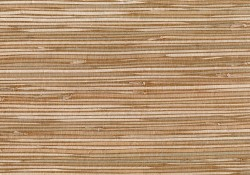 Masuyo Light Brown Grasscloth Wallpaper