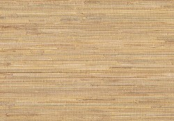 Mayu Taupe Grasscloth Wallpaper