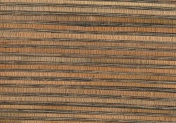 Naomi Brown Grasscloth Wallpaper