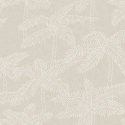 5356 31W8411 Palm Tree Sketch Wallpaper