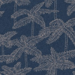 5356 68W8411 Palm Tree Sketch Wallpaper