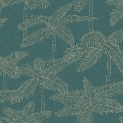 5356 77W8411 Palm Tree Sketch Wallpaper