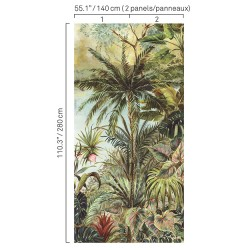 5423 78W8411 Tropical Small Wall Mural