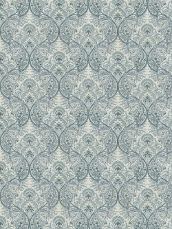 Exquisite Rua Brot Aquamarine Fabric