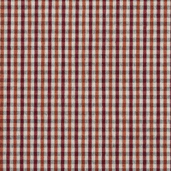 5816 Spice Check Fabric by Charlotte Fabrics