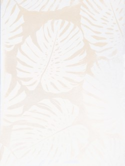 Astonishing 50090W Monstera Frost 01 Fabricut Wallpaper