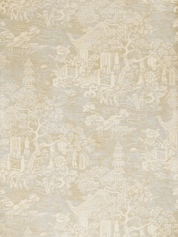 Dramatic 50068W Fontana Seaglass 01 Fabricut Wallpaper