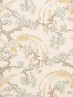 Magnificent 50037W Adelaida Honey 03 Fabricut Wallpaper
