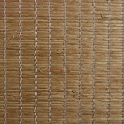 Xiao Hong Light Brown Grasscloth Wallpaper