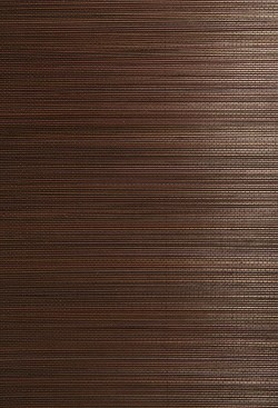 Xin Qian Dark Brown Grasscloth Wallpaper