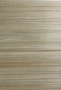 Hiromi Light Brown Grasscloth Wallpaper