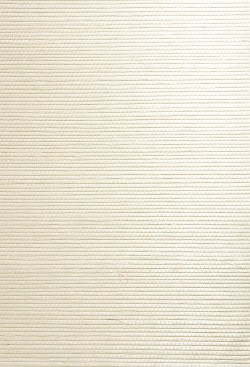 Ping Cream Grasscloth Wallpaper