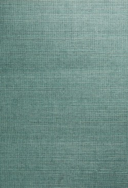 Kimiyo Aqua Grasscloth Wallpaper