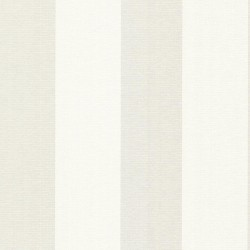 Amalfi Light Grey Linen Stripe Wallpaper