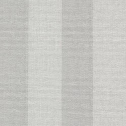 Amalfi Silver Linen Stripe Wallpaper
