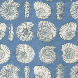 Nautilus 681580 Indigo Waverly Fabric